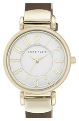 Women's Anne Klein Leather Strap Watch 30Mm