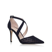 Carvela Kross 2 High Heel Sandals Navy