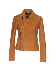 Vintage De Luxe Coats And Jackets Jackets Camel