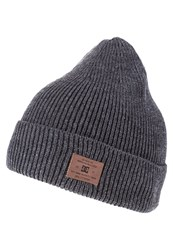 Dc Shoes Hubbish Hat Heather Charcoal Grey
