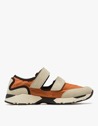Marni Two Strap Runner Orange Beige