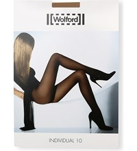 Wolford Individual 10 Nylon Blend Tights Cosmetic