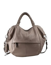 Sanctuary Tassled Leather Satchel