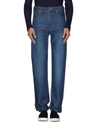Armani Jeans Denim Denim Trousers Men Blue