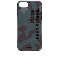 Off White Quote Camo Iphone 8 Cover Green