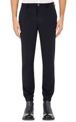 John Varvatos Elasticized Cuff Trousers Blue