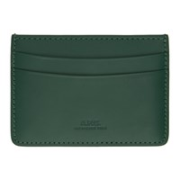 A.P.C. Green Andre Card Holder