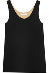 Chloe Iconic Silk Crepe De Chine Tank Black