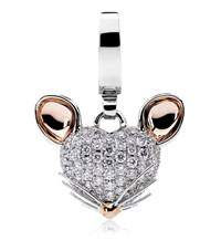 Theo Fennell Woodland Mouse Charm Female