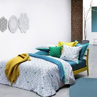 Olivier Desforges Parade Duvet Cover Peacock Double