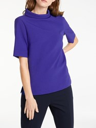 Bruce By Bruce Oldfield Picture Collar Top Cobalt