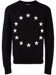 Etudes Embroidered Star Sweatshirt Black