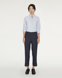 Thom Browne Classic Backstrap Twill Wool Trouser