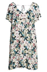 O'neill Miran Floral Print Woven Dress Multi Colored