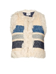 Sea Blanket Silk And Wool Blend Gilet