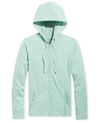 American Rag Men's Lightweight Full Zip Hoodie Only At Macy's Fresh Mint
