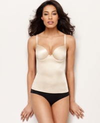 Maidenform Firm Control Camisole Decadence Custom Lift 2666 Latte W Ivory