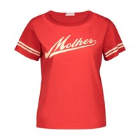Mother The Boxy Goodie T Shirt Mother Script