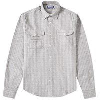 Barbour X White Mountaineering Dragonet Shirt Grey