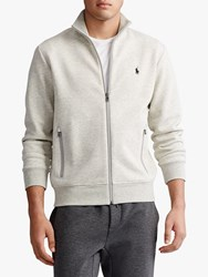 Ralph Lauren Polo Double Knit Track Jacket Heather