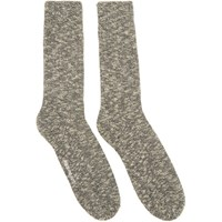 Norse Projects Navy And White Ebbe Socks