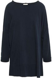 American Vintage Woman Cotton Jersey Top Navy