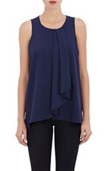 Drew Shoe Women's Crepe Sleeveless Blouse Navy
