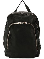 Guidi Soft Full Grain Backpack Black