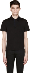 Cnc Costume National Black Classic Polo