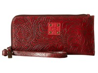 Sts Ranchwear The Floral Clutch Red Clutch Handbags