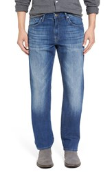 Mavi Jeans Men's 'Matt' Relaxed Fit Mid Blue
