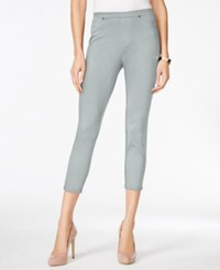 Styleandco. Style And Co. Pull On Twill Capri Leggings Only At Macy's
