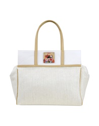 Pin Up Stars Handbags Ivory