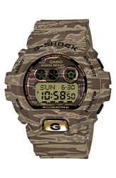 G Shock Xl Camouflage Pattern Digital Watch 58Mm X 54Mm Regular Retail Price 150.00 Brown Camo