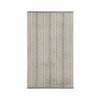 Sanderson Brecon Stripe Towel Silver Bath Towel