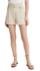 Club Monaco Darcee Shorts Tan