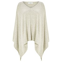 John Lewis Cashmere Blend Poncho Cream