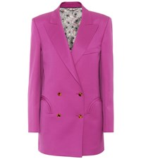 Blaze Milano Exclusive To Mytheresa.Com Shamrock Wool Blazer Pink