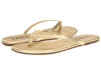 Tkees Flip Flop Highlighter Blink Women's Toe Open Shoes Gold