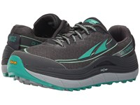 Altra Zero Drop Footwear Olympus 2 Charcoal Peacock Women's Running Shoes Black