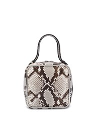 Alexander Wang Snake Print Halo Bag Grey