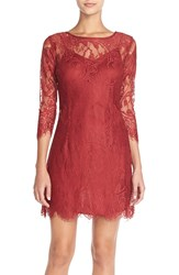 Bb Dakota 'Natalia' Lace Sheath Dress 6