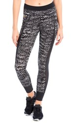 Lole Women's 'Burst' Print Leggings Black East Side