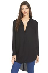 Women's Leith High Low Tunic Black