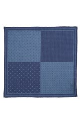 Men's Todd Snyder White Label 'Quad Dot' Cotton Pocket Square