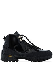 1017 Alyx 9Sm Lace Up Hiking Boots Black