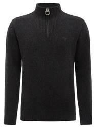 Barbour Essential Lambswool Half Zip Jumper