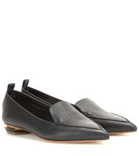 Nicholas Kirkwood Beya Leather Loafers Black