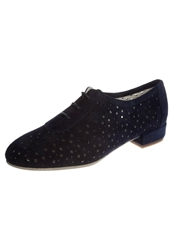 Kmb Cory Laceups Suede Navy Blue