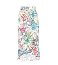 Peter Pilotto Printed High Low Skirt Multicoloured